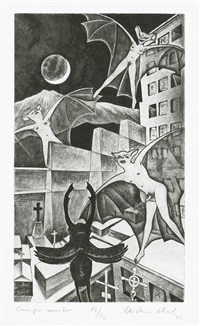 campo santo (from schadiana) by christian schad