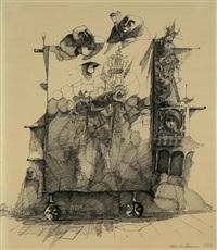 ohne titel (straßentheater) by peter ackermann