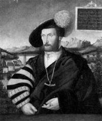 portrait des württembergischen herzogs ulrich by conrad (von creuznach) faber