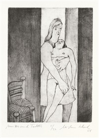 mutter und tochter (from schadiana) by christian schad