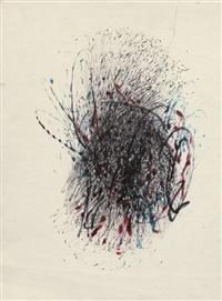 méta-matic-zeichnung by jean tinguely