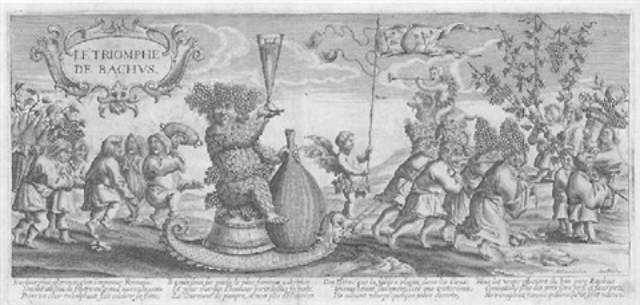 der triumph des bacchus by michiel van lochom