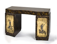 desk with chinoiserie decoration by grosfeld house