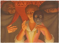 un ballo in maschera by george tooker