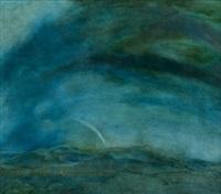 landschaft in blaugrün by volkert emrath