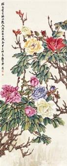 万紫嫣红图 by liu bin