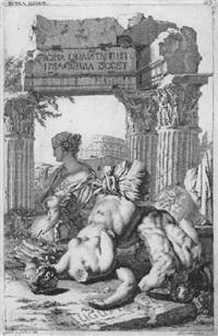 ruina roma by johann jacob von sandrart