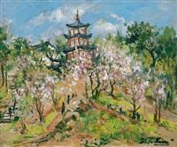 樱花 (sakura) by lin dachuan