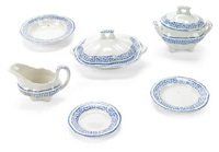 miniature dinner service (set of 34) by aynsley china ltd. (co.)