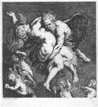 boreas entführt orytia by philippe lambert joseph spruyt