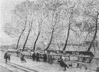 quai des grands augustins by albert c. hubert