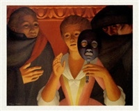 un ballo en maschera (the masked ball) by george tooker