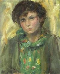 portrait der tochter ingo by lou (lazar) albert-lazard