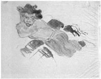 liegende junge mulattin by hans juergen gabriel