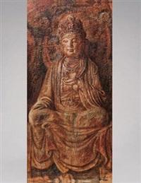 石窟观音 (avalokiteśvara) by dai kuiyang