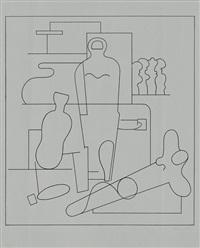 sportler by willi baumeister