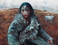 放羊的女孩 by ai xuan