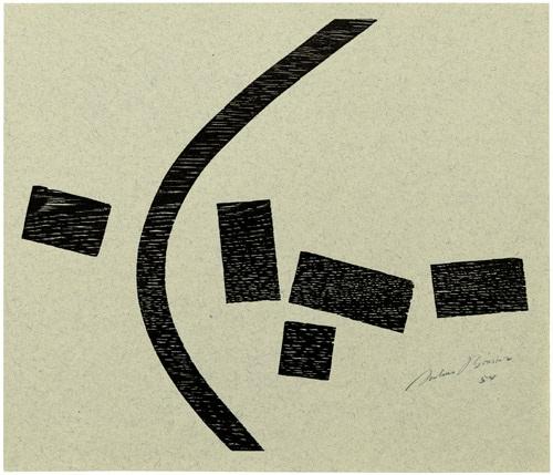 drei kompositionen 3 works by julius bissier