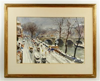 pont st. michel by john whorf