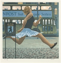 berlin bus by david alexander colville