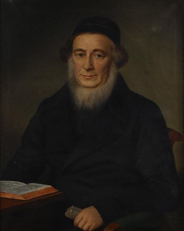a portrait of a scholar by b fischer
