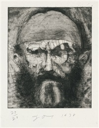 self-portrait by jim dine