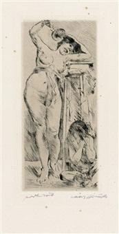 bacchantin by lovis corinth