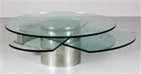 self winding coffee table by dakota jackson