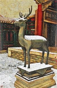 故宫-鹿 by jia shaochang