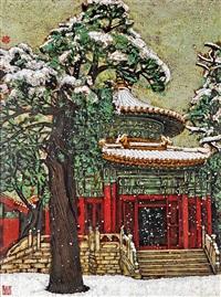 故宫-松柏亭 by jia shaochang