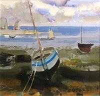 la barque bleue by michel rodde