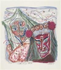 alemanische masken by otto dix