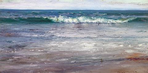 breaking waves along a shore by george gardner symons