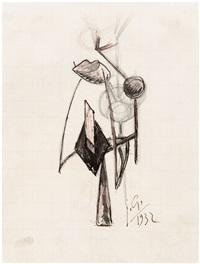 personnage abstraction (tête étrange) by julio gonzález