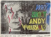 why shoot andy warhol? multiple ( by al (alfred earl) hansen