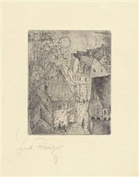 die aufgehende sonne by lyonel feininger