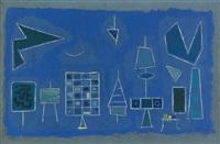blauer grund by otto hofmann