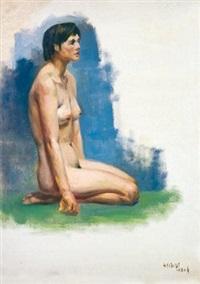 裸女 by liu yiwen