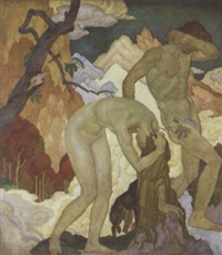 the expulsion from eden by eugene francis savage