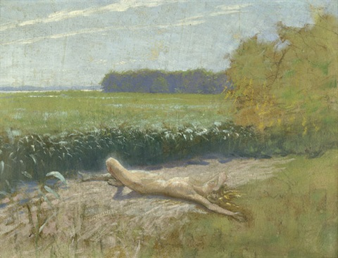 maienglut am havelschilf by hugo hoppener fidus