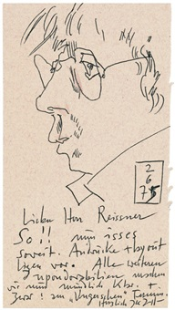selbst am 2.6 (75 works) by horst janssen
