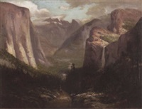 yosemite valley by jules r. mersfelder
