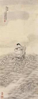 洛神图 (roselle) by xiang kun