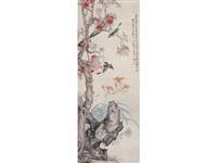 birds and flowers by liu deliu