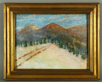 camp road, camden hills by marsden hartley