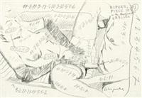 erotische szene (piece no. 97) by arthur köpcke