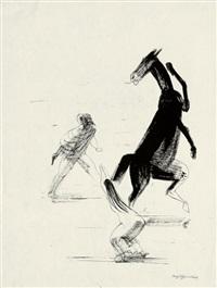 illustration zu giambattista basiles das pentameron (dritter tag, 1. erzählung: cannetella) by josef hegenbarth