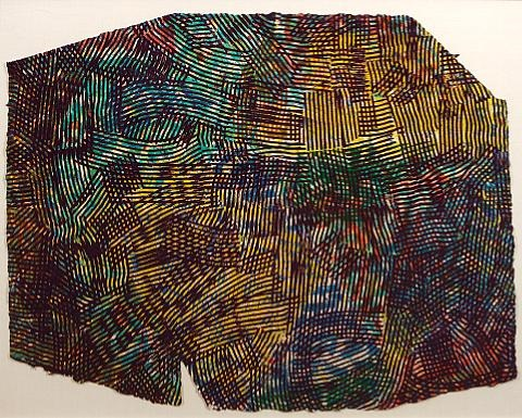 lattice iv by sam gilliam