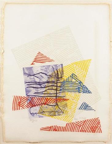 buoy landscape iii by sam gilliam