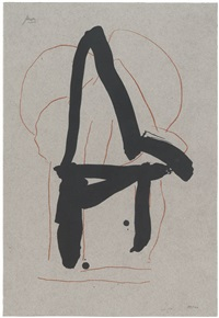 beau geste iv (from beau geste) by robert motherwell